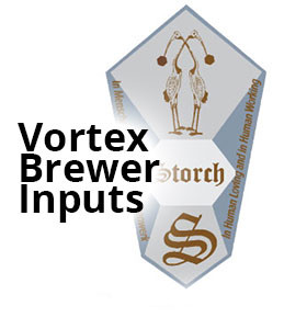 The Vortex Brewer® Inputs