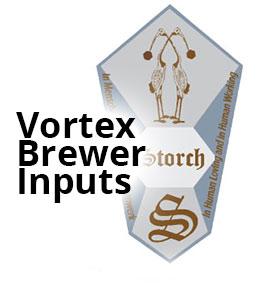 The Vortex Brewer® Inputs